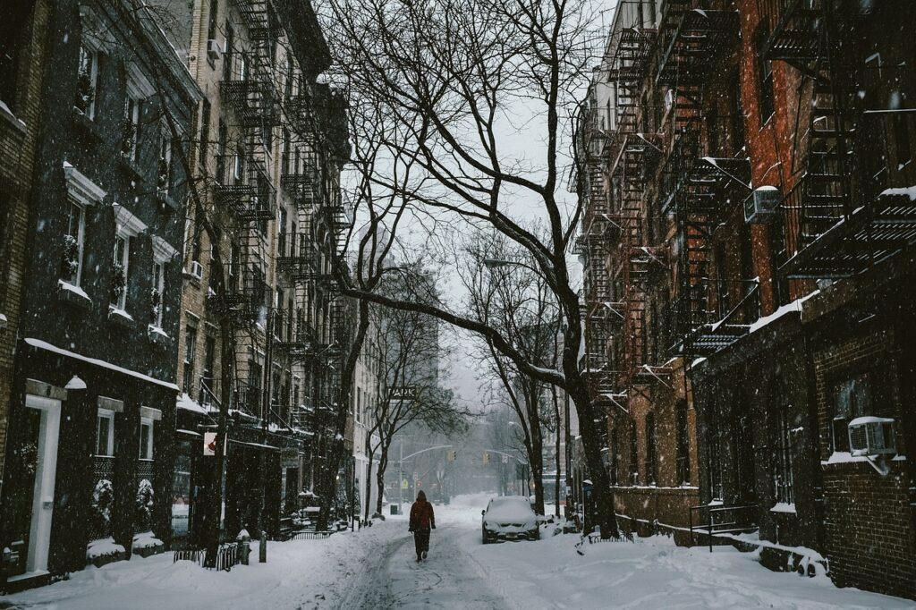 street, person, walk
